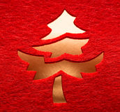 Christmas decorative tree Stock Image