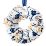 Christmas decorative wreath Stock Photography