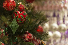 Christmas decors Stock Images