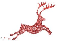 Christmas deer Stock Photos