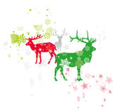 Christmas deer Royalty Free Stock Image