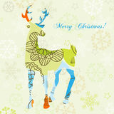Christmas deer Royalty Free Stock Photography