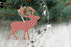 Christmas deer Stock Image