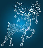 Christmas deer Royalty Free Stock Photo