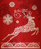 Christmas deer. Royalty Free Stock Photography