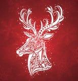 Christmas deer. Stock Photos