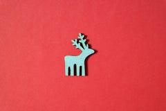 Christmas deer background Stock Photography