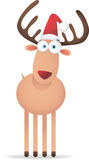 Christmas Deer with Big Eye Stock Images