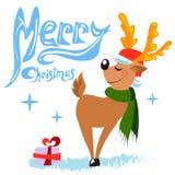 Christmas deer Royalty Free Stock Photography