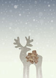 Christmas Deer Royalty Free Stock Photos