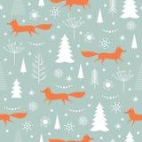 Christmas deer, vector illustration Stock Photos