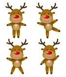 Christmas deers Royalty Free Stock Image
