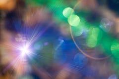 Christmas defocused lights background blurred. Stock Images