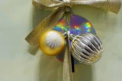 Christmas dekoracja, nowego roku świętowanie zdjęcia stock