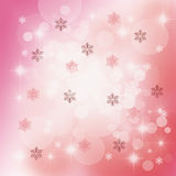 Christmas Delicate Abstract Royalty Free Stock Photography