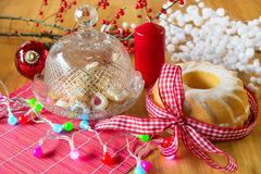 Christmas delicatessen Stock Photo