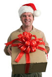 Christmas Delivery Stock Photo