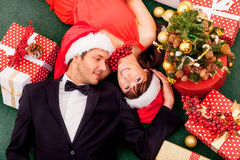 Christmas delivery Royalty Free Stock Photography