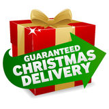 Christmas Delivery Icon Royalty Free Stock Photos