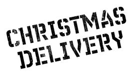 Christmas Delivery rubber stamp Royalty Free Stock Images