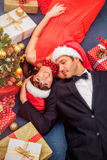Christmas delivery Royalty Free Stock Image
