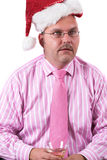 Christmas depression Royalty Free Stock Photos