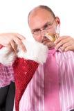 Christmas depression Royalty Free Stock Photography