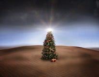 Christmas desert royalty free stock photo