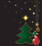 Christmas design. Vector decoration illustration Stock Photos