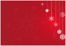 Christmas design. Illustration of christmas design in blue Stock Images