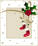 Christmas design Stock Image