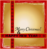 Christmas Design. With background and frame Royalty Free Stock Image