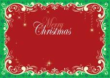 Christmas Design Attractive Border stock photos
