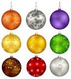 Christmas design balls Royalty Free Stock Image