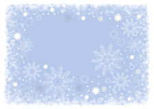 Christmas design bright blue Stock Images