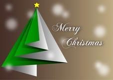 Handkerchief brown christmas Royalty Free Stock Photography