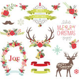 Christmas Design Collection Royalty Free Stock Photography