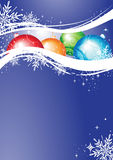 Christmas design with copy space Stock Photo