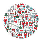 Christmas design element Royalty Free Stock Images
