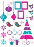 Christmas Design Elements. Illustration Stock Images