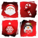 Christmas design elements Stock Image