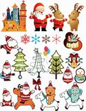 Christmas Design Elements 2 Stock Photography