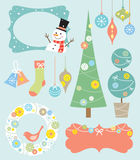 Christmas Design Elements royalty free illustration