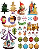 Christmas Design Elements 3 Stock Photography