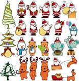 Christmas Design Elements 4 Stock Photo