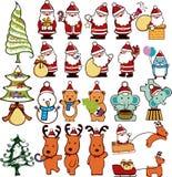 Christmas Design Elements 4 Stock Photo
