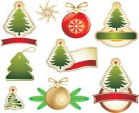 Christmas design elements Royalty Free Stock Photos