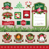 Christmas design elements royalty free illustration