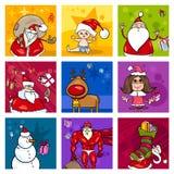Christmas design elements Stock Photo