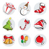 Christmas Design Elements stock images